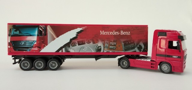 Mercedes-Benz ACTROS Model