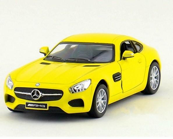 AMG  GT Car model Yellow