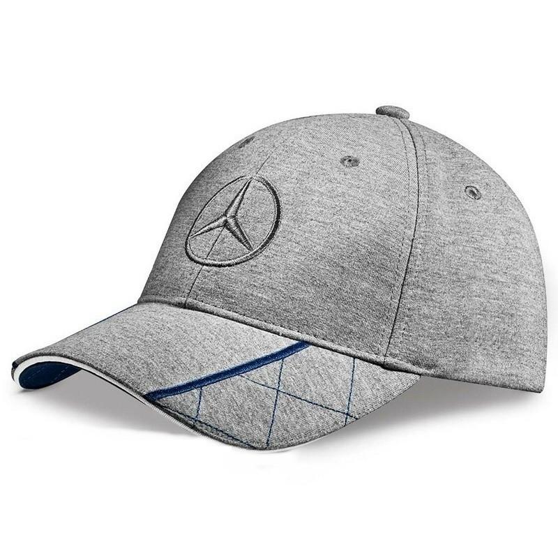 καπέλο Mercedes-Benz Grey Blue