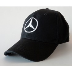 καπέλο Mercedes-Benz Classic Black