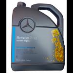 Λάδι βενζινοκινητήρα Mercedes-Benz προδιαγραφής 229.5  συσκευασία  5 L, SAE 5-30