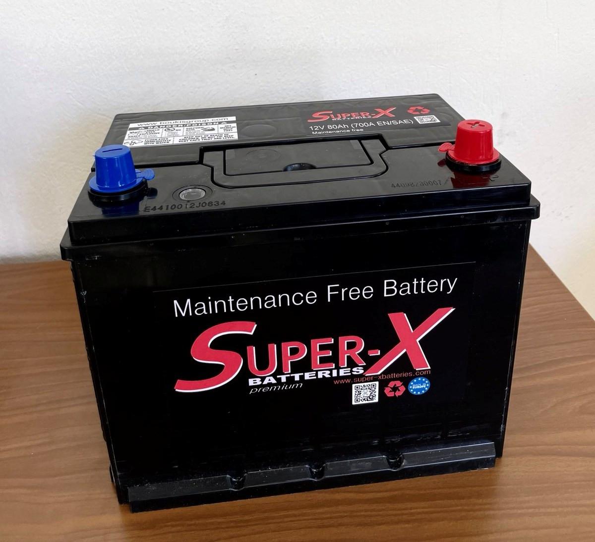 SUPER-X BATTERIES